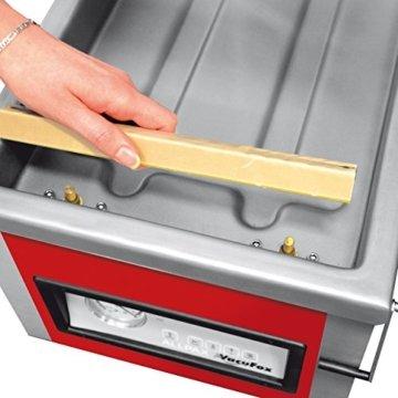 Allvac® Kammer Vakuumiergerät KV 260 von Allpax® - 8 m³/h, 99% Vakuum - Nahtlänge 260 mm, Nahtbreite 5 mm - für Siegelrandbeutel bis 250 mm Breite - 3