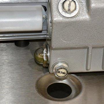 Allvac® Kammer Vakuumiergerät KV 260 von Allpax® - 8 m³/h, 99% Vakuum - Nahtlänge 260 mm, Nahtbreite 5 mm - für Siegelrandbeutel bis 250 mm Breite - 4