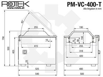 Kammer Vakuumiermaschine Rotek
