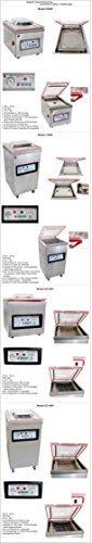 Beeketal 'T400S' Profi Kammer Vakuumierer mit Impuls Schweißleiste, elektronisch gesteuertes Vakuumiergerät mit 20m³/h Absaugvolumen und integriertem Impuls Folienschweißgerät, Standgerät mit Rädern - 3