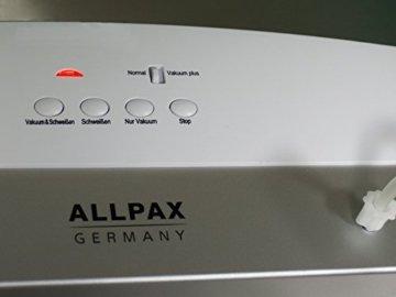 Allpax Vakuumiergerät Test F110