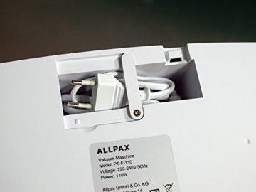 Test Allpax Vakuumierer F110